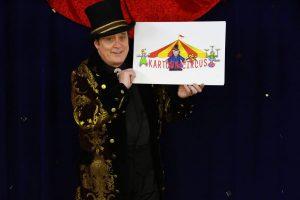 Dal Sanders ringmaster on Kartoon Circus